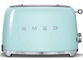 Smeg Tsf01Pgau - 2 Slice Toaster Pastel Green