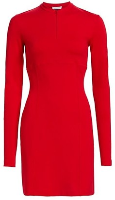 artica-arbox Mockneck Sheath Dress