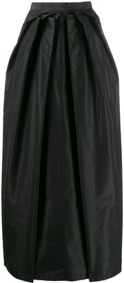 Moschino Pre Owned Draped Maxi Skirt