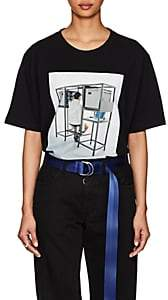 Off-White Byredo x Women's Unisex Graphic Jersey Slim T-Shirt - Black