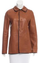 Marni Belted Leather Jacket