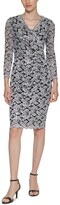 Thumbnail for your product : Jessica Howard Glitter Lace Sheath Dress