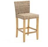 La Inqaluit Rattan Mid Height Bar Chair