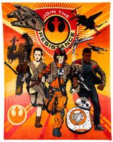 Star Wars Episode VII The Force Awakens The Resistance Throw Blanket
