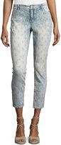 Nanette Nanette Lepore Embellished Skinny Cropped Jeans, Patchwork Wash