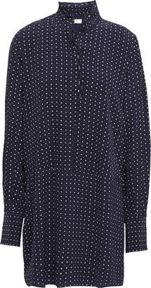 Joie Polka-dot Crepe Mini Dress
