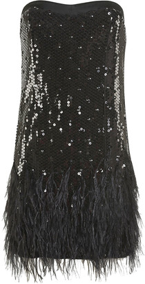 Amen Paill And Feathers Dress
