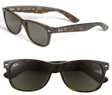 Ray-Ban Men's 'New Wayfarer' 55Mm Sunglasses - Black/ Green