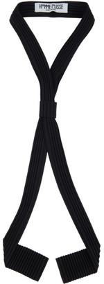Homme Plissé Issey Miyake Black Pleated Bow Tie