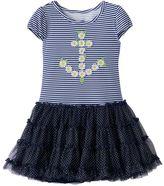 Nannette Toddler Girl Nanette Daisy Anchor Dress