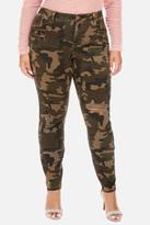 Fashion to Figure Taylor Distressed Camo Skinny Jeans