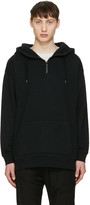 Robert Geller Black Sweat Hoodie