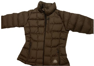Pyrenex Brown Polyester Leather jackets