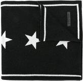 Givenchy star knit scarf
