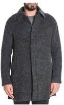 Tonello Men's Brown Wool Coat.