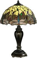 Dale Tiffany Dale TiffanyTM Corrall Dragonfly Table Lamp