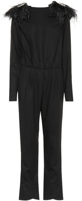 Johanna Ortiz Feel Me wool jumpsuit