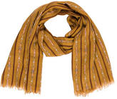 Tory Burch Wool Printed Scarf