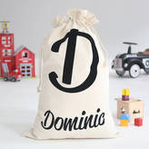 My 1st Years Personalised Name Initial Toy Sack