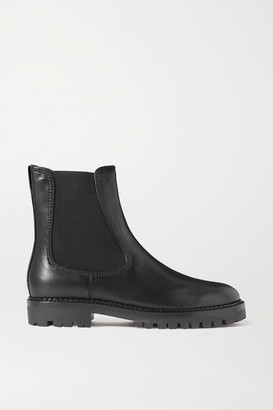 Vince Carmine Leather Chelsea Boots - Black
