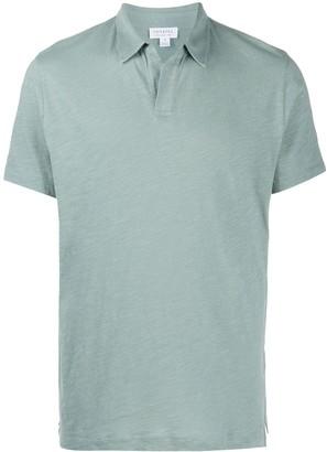 Sunspel Short Sleeve Polo Shirt