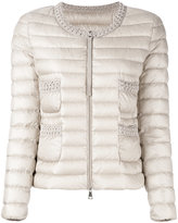 Moncler classic puffer jacket - women - Feather Down/Polyamide - 0