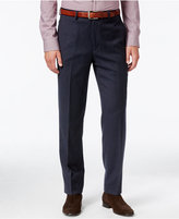 Lauren Ralph Lauren Men's Classic Fit Blue Micro-Check Dress Pants
