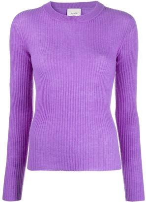 Alysi Ribbed-Knit Jumper