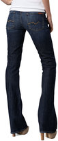 """7 For All Mankind Boot-Cut NY Dark-Wash Jeans, 32"""" inseam"""