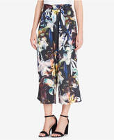 Catherine Malandrino Carver Printed Wide-Leg Ankle Pants