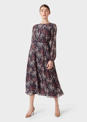 Hobbs Eden Floral Tea Dress