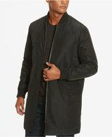 Kenneth Cole New York Men's Long Bomber Jacket