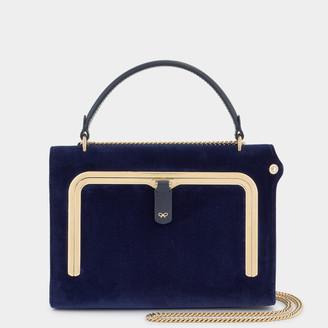 Anya Hindmarch Velvet Small Postbox Bag