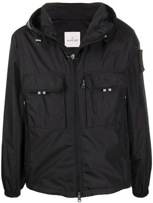 Moncler Hooded Lightweight Jacket