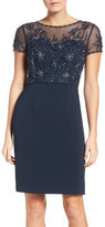 JS Collections Embellished Sheath Dress