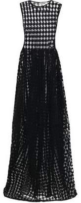 Jil Sander Crochet-knit Cotton-blend Gown