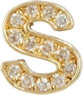 Jennifer Meyer Diamond Lowercase 's' Stud Earring