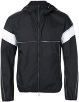 Emporio Armani zipped hooded jacket - men - Polyamide - XL