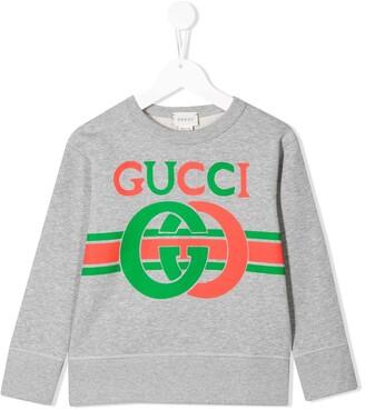 Gucci Kids Interlocking G sweatshirt