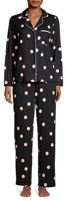Kate Spade Print 2-Piece Pajama Set