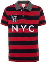 Gap BOYS LOGO ARCH SIRO Polo shirt navy red