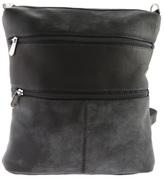 Women's Piel Leather Convertible Multi-Pocket Shoulder Bag/Backpack 305