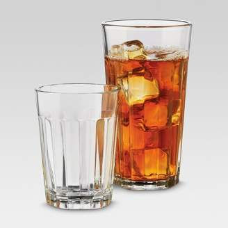 Threshold 12pc Glass Old-School Assorted Tumblers - ThresholdTM