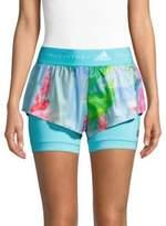 adidas by Stella McCartney 2-In-1 Running Shorts