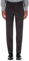 Isaia Men's Cortina Corduroy Trousers-GREY
