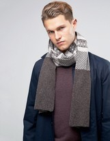 Selected Homme Scarf In Fair Isle