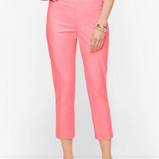 Talbots Chatham Crop Pants - Oxford Stripe