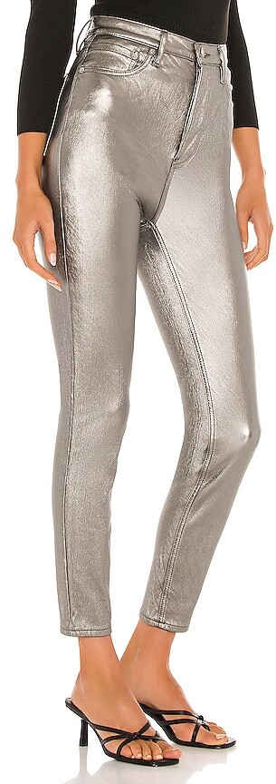 Thumbnail for your product : Free People Phoenix Coated Skinny Jean
