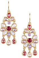 Carolee Spring Bouquet Chandelier Earrings