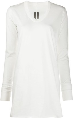 Rick Owens Long-Sleeve Fitted Jumper